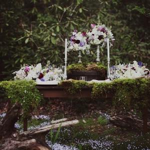 Glamorous Woodland Wedding Inspiration Shoot