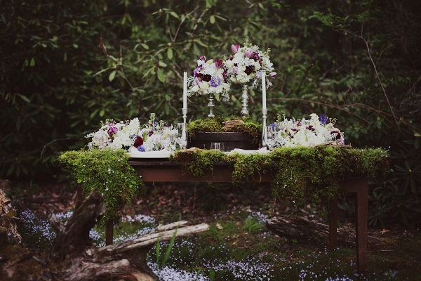 Glamorous Woodland Wedding Inspiration Shoot