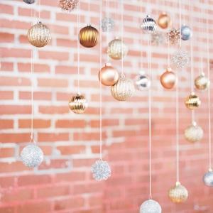 Christmas ornament hanging decor