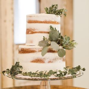 Naked Cake with Eucalyptus