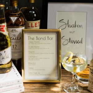 James Bond-Inspired Cocktails