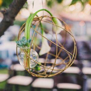 Geometric Succulent Hanging Planter