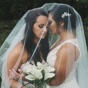 Two brides portrait