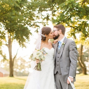 Bridal portraits mountain wedding in Barboursville Virginia