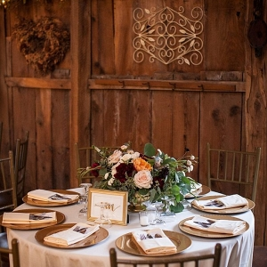 Elegant wedding at Chanteclaire Farm