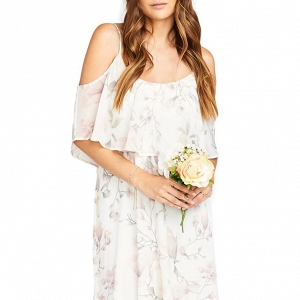 Airy Boho Bridesmaid Dress