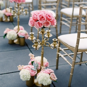 Rose aisle markers