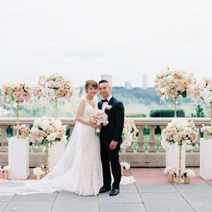 Rooftop Edmonton wedding