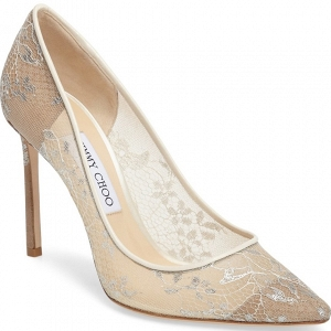 Jimmy Choo 'Romy' Lace Pump