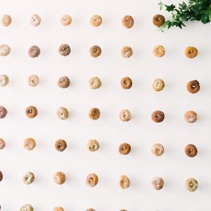 Fun Donut Wall