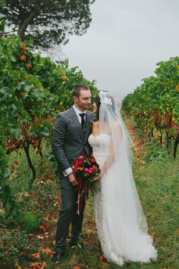 Colorful Yarra Valley Winery Wedding