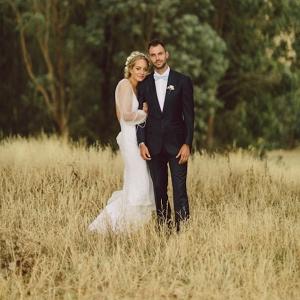 Australian Country Wedding Portrait