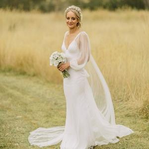 Bride Wearing Jane Hill