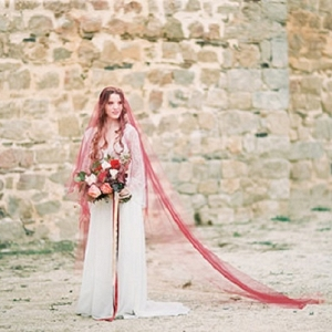 Romantic Berry Inspired Bridal Fashion