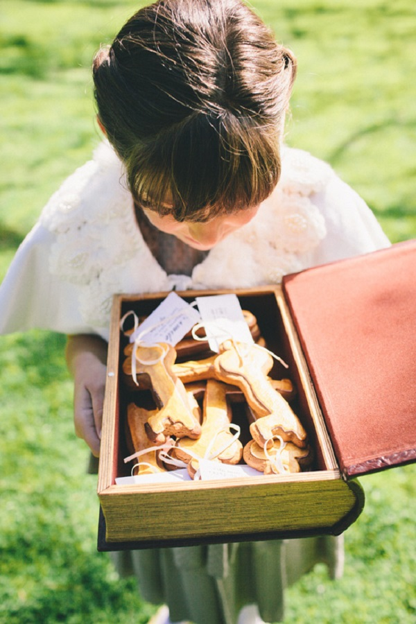 Gingerbread Key Wedding Favors