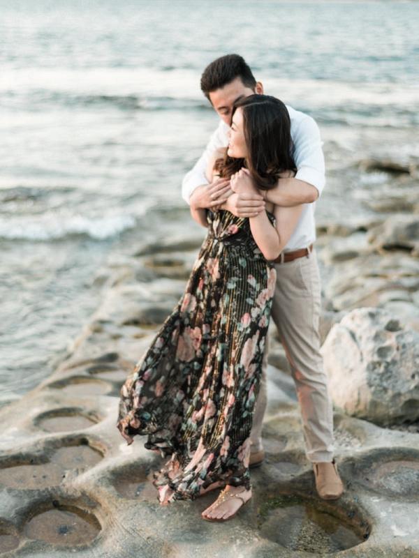 Dreamy Beach Engagement