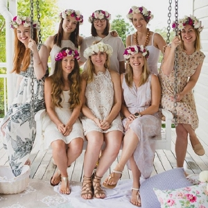 Bridesmaid Floral Party