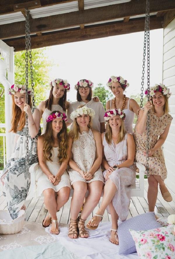 Bridesmaid Floral Party