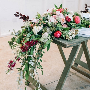 Floral Reception Garland