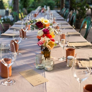 Tablescape With Poppies