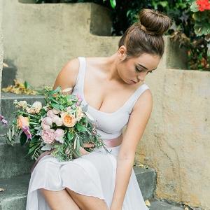 Bride With Ballet Attire