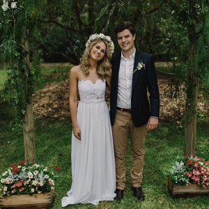 Fun Garden Wedding