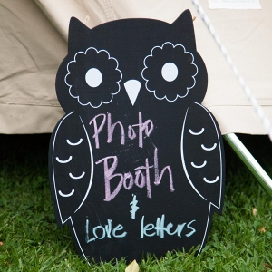 Owl Chalkboard Sign