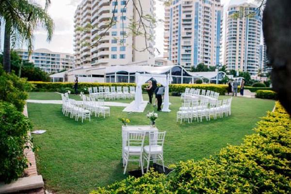 Circular Wedding Ceremony Layout