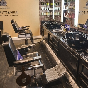Trueffit & Hill Men's Grooming Room
