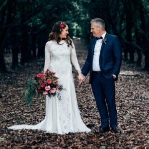 Intimate Rustic Newrybar Wedding
