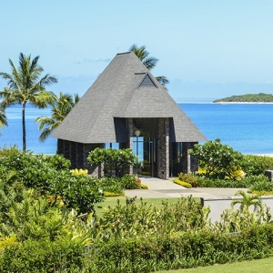 Intercontinental Fiji Wedding Chapel