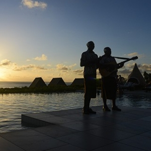 Sunset Serenades In Fiji