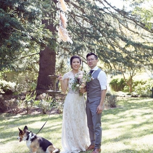 Whimsical Wedding Portrait