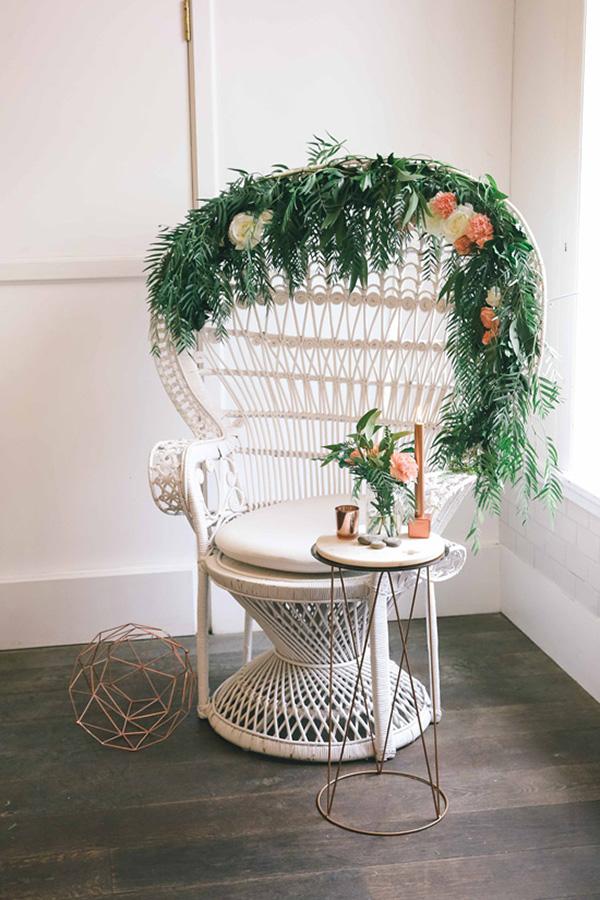 Copper & Peach Wedding Ideas