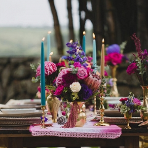 Jewel Toned Tablescape