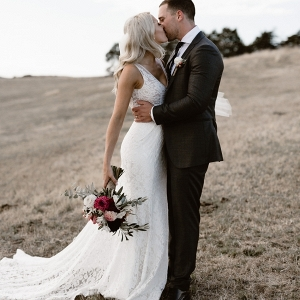Romantic Balgownie Estate Vineyard Wedding