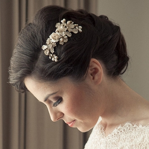 Elegant Bride With Classic Updo