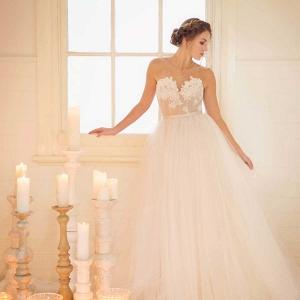 Romantic White On White Wedding Inspiration
