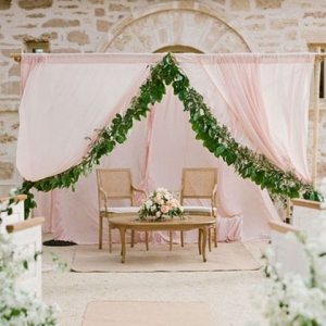 Pale Pink Ceremony Inspiration