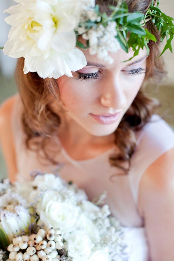 Bohemian Floral Crown