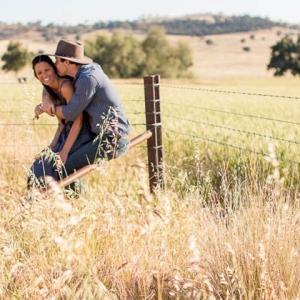 Engagement Photos On A Farm