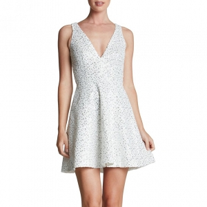 Dress the Population 'Carrie' Sequin Fit & Flare Minidress