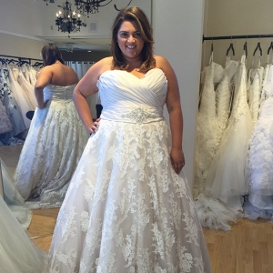 Wedding Dress Shopping for Plus Size Brides