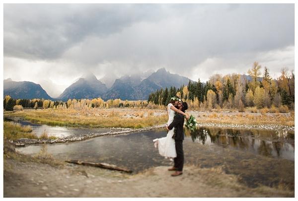 Grand Teton Wyoming Wedding