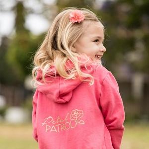 Check out this adorable DIY Petal Patrol sweatshirt!