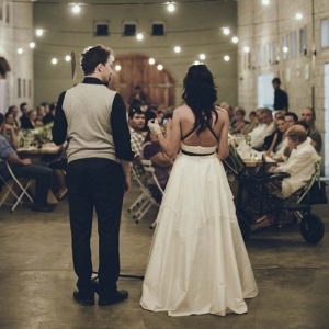 Bride & Groom at Reception