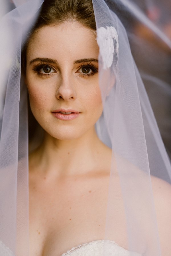 Bride in Heirloom Veil
