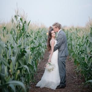 Couple in Cornfield