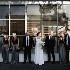 City Wedding Bridal Party