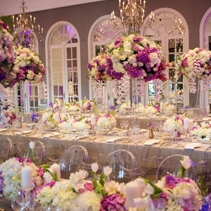 Luxury Floral Wedding Reception